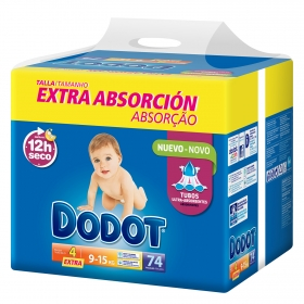 Pañal extra absorción T4 Extra (9-15 kg)