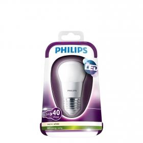 Bombilla Esférica Philips LED 40W E27 Cálida Mate