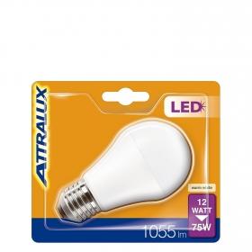 Bombilla LED Estándar 12W = 75W E27 Attralux