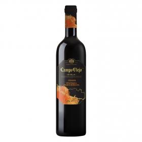 Vino D.O. Rioja tinto crianza Vendimia Seleccionada Campo Viejo 75 cl.