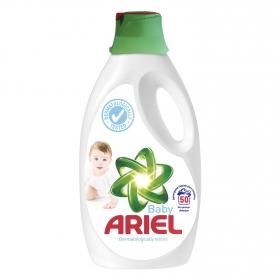 Detergente líquido Bebé Ariel 50 lavados.