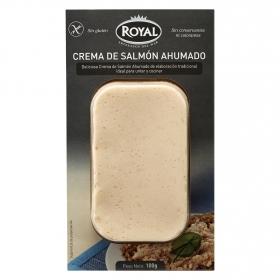 Crema de salmón ahumado Royal sin gluten 100 g.
