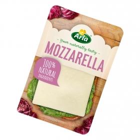 Queso en lonchas mozzarella en lonchas Arla 150 g.