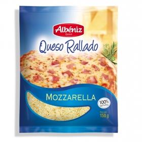 Queso rallado mozzarella Albeniz 150 g.