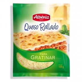 Queso rallado para gratinar Albeniz 150 g.