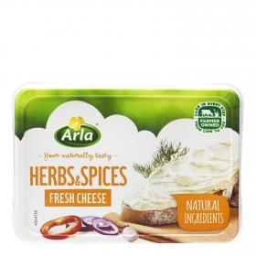 Crema de queso para untar finas hierbas Arla 150 g.