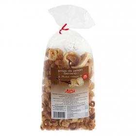 Snacks tiritas de jamón serrano