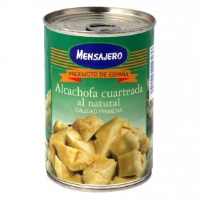 Alcachofa cuarteada al natural