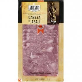 Cabeza de jabalí ibérico loncheado De Antaño 100 g