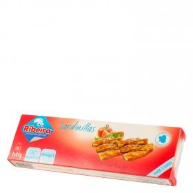 Sardinillas con tomate Ribeira sin glute pack de 2 unidades de 85 g.