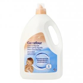 Detergente especial ropa bebé líquido Carrefour 50 lavados.