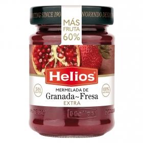 Mermelada de granada y fresa extra sin gluten