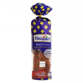 Brioche trenzado chocolate Pasquier 550 g.