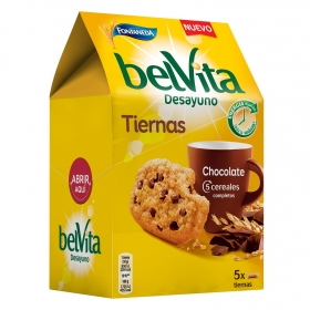 Galletas de cereales y chocolate Fontaneda 250 g.