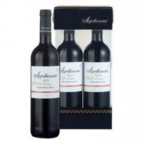 LOTE 81: 2 botellas D.O. Ca. Rioja  Azpilicueta tinto crianza 75 cl.