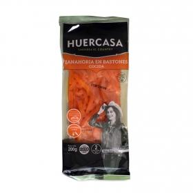 Zanahoria cocida en bastones Huercasa bolsa 200 g