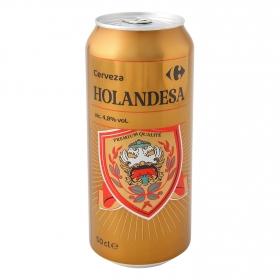 Cerveza Carrefour Holandesa lata 50 cl.