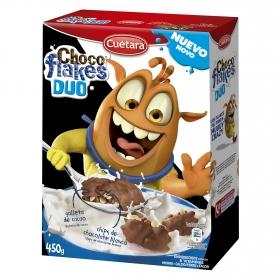 Galletas chocoflakes duo