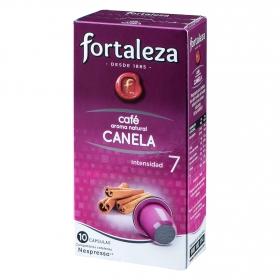 Café aroma natural canela compatible con Nespresso