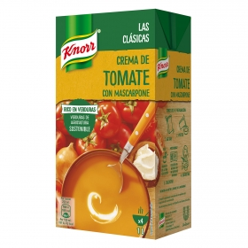 Crema de tomate y mascarpone