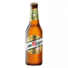 Cerveza San Miguel Premium especial sin gluten botella 33 cl.