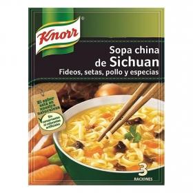 Sopa china de Sichuan
