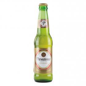 Cerveza Presidente botella 35,5 cl.