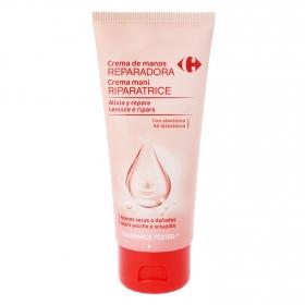 Crema de manos reparadora Carrefour 100 ml.