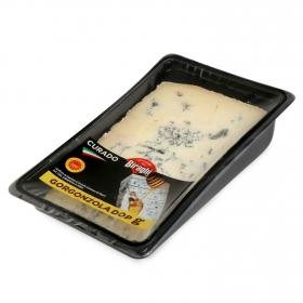 Queso azul gorgonzola curado D.O.P. Hispano Italiana cuña 180 g