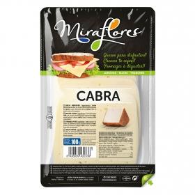 Queso de cabra en lonchas Miraflores 150 g.