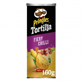 Tortilla chips spicy chilli