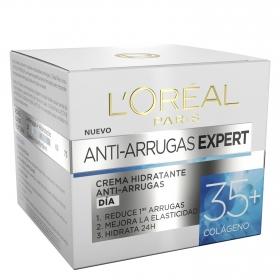 Crema hidratante anti-arrugas Expert 35+ Colágeno L'Oréal 50 ml.