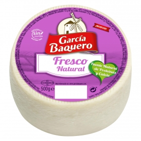 Queso fresco natural