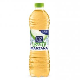 Agua mineral Font Vella Levité con zumo de manzana