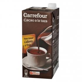 Cacao a la taza listo para tomar Carrefour sin gluten 1 l.
