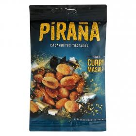 Cacahuetes tostados sabor curry