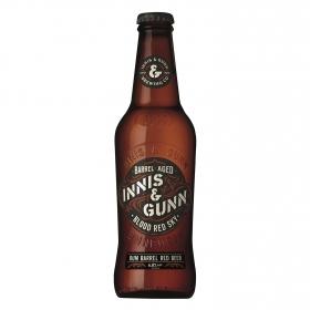 Cerveza Innis&Gunn Rum Finish escocesa roja botella 33 cl.