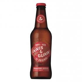 Cerveza Innis&Gunn Original escocesa rubia botella 33 cl.