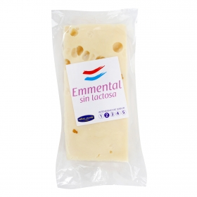 Queso emmental sin lactosa
