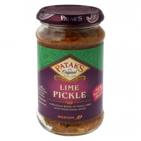 Salsa Pickle de lima