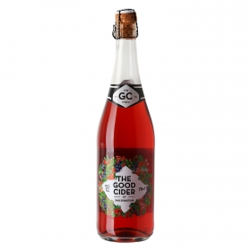 Sidra The Good Cider sabor frutos del bosque 75 cl.