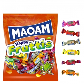 Caramelos masticables Happy Fruttis Maoam 175 g.