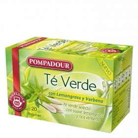 Té Verdé con lemongrass y verbena