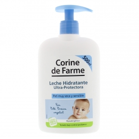 Leche hidratante ultra-protector para pieles muy secas y sensibles