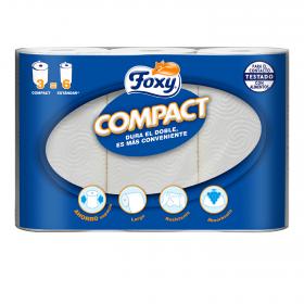 Papel de cocina compacto
