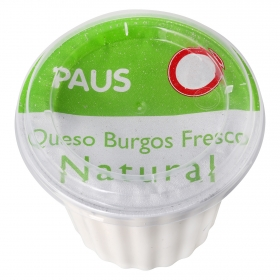 Queso de Burgos fresco natural Paus 250 g.
