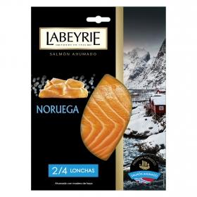 Salmón ahumado noruego Labeyrie 100 g.