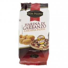 Harina de garbanzo Don Pedro sin gluten 400 g.