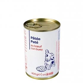 Lata Pate de Buey para Perro 400 Gr, Carrefour