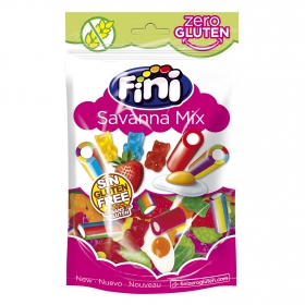 Caramelos de goma Savanna Mix Fini sin gluten 160 g.